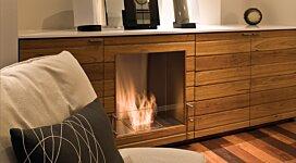 Firebox 650SS Fireplace Insert - In-Situ Image by EcoSmart Fire
