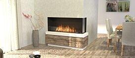 Flex 50RC Right Corner - In-Situ Image by EcoSmart Fire