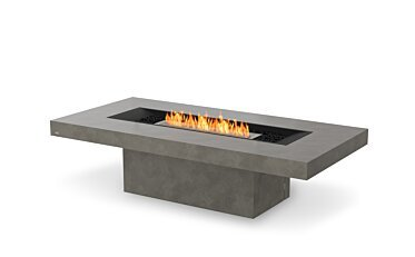 Gin 90 (Chat) Fire Pit Table - Studio Image by EcoSmart Fire
