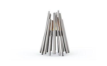 Stix Fire Pit - Studio Image by EcoSmart Fire