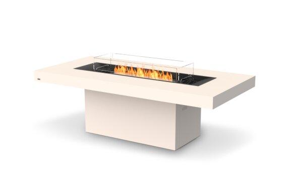 Gin 90 (Dining) Fire Pit - Ethanol - Black / Bone / Optional Fire Screen by EcoSmart Fire