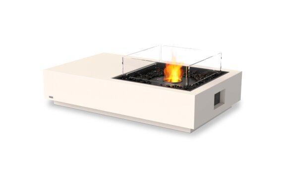 Manhattan 50 Fire Pit - Ethanol - Black / Bone / Optional Fire Screen by EcoSmart Fire