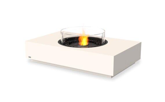 Martini 50 Fire Pit - Ethanol - Black / Bone / Optional Fire Screen by EcoSmart Fire