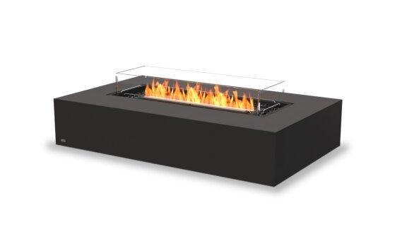 Wharf 65 Fire Pit - Ethanol - Black / Graphite / Optional Fire Screen by EcoSmart Fire