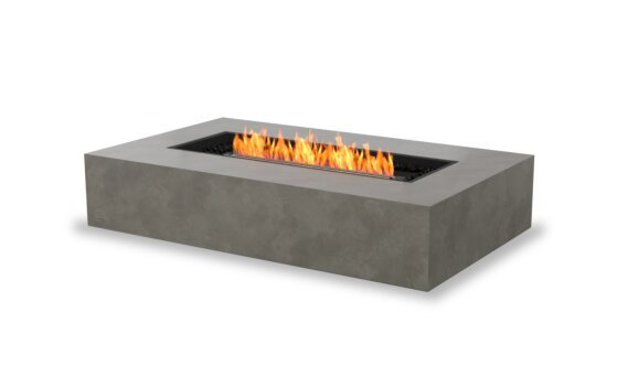 Wharf 65 Fire Pit - Ethanol - Black / Natural by EcoSmart Fire