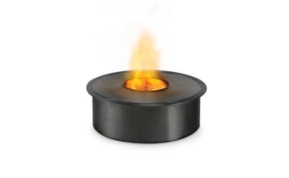 AB8 Ethanol Burner - Ethanol / Black / Top Tray Included by EcoSmart Fire