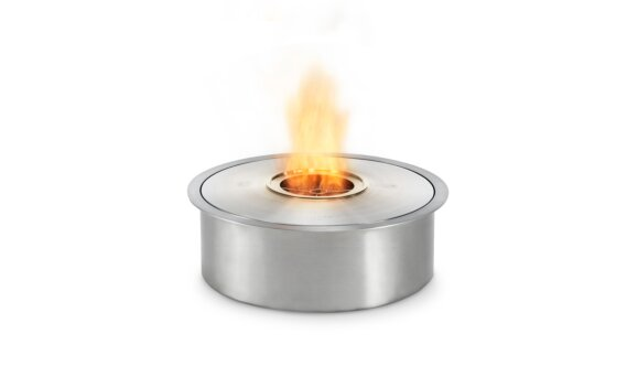 AB8 Ethanol Burner - Ethanol / Stainless Steel / Top Tray Included by EcoSmart Fire