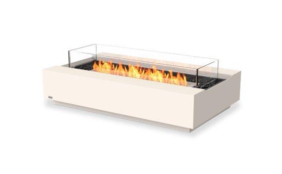 Cosmo 50 Fire Pit - Ethanol / Bone / Optional Fire Screen by EcoSmart Fire