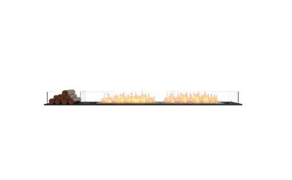 Flex 104BN.BX1 Bench - Ethanol / Black / Installed View by EcoSmart Fire