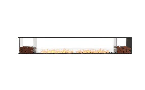 Flex 140PN.BX2 Peninsula - Ethanol / Black / Installed View by EcoSmart Fire