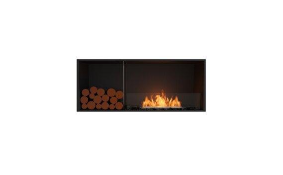 Flex 50SS.BXL Single Sided - Ethanol / Black / Installed View by EcoSmart Fire