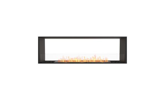 Flex 68DB Double Sided - Ethanol / Black / Installed View by EcoSmart Fire