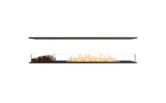 Flex 86IL.BX1 Island - Ethanol / Black / Installed View by EcoSmart Fire