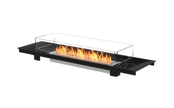 Linear Curved 65 Fireplace Insert - Ethanol / Black by EcoSmart Fire