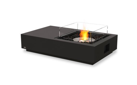 Manhattan 50 Fire Pit - Ethanol / Graphite / Optional Fire Screen by EcoSmart Fire