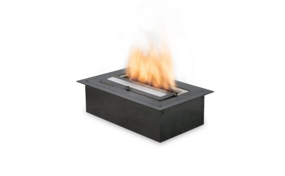 XS340 Ethanol Burner - Ethanol / Black / Top Tray Included by EcoSmart Fire