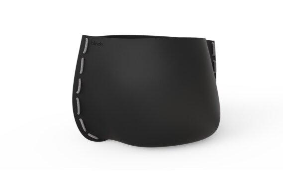 Stitch 125 Planter - Graphite / Grey by Blinde Design