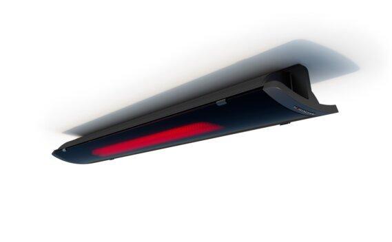 Pure 3000W Radiant Heater - Black / Black - Flame On by Heatscope Heaters