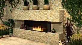 Flex 42BY Fireplace Insert - In-Situ Image by EcoSmart Fire