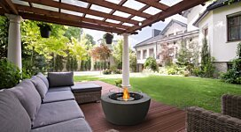 Pod 40 Fire Pit Bowl - In-Situ Image by EcoSmart Fire
