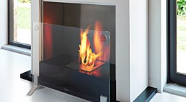 Plasma Fire Screen Fireplace Screen - In-Situ Image by EcoSmart Fire
