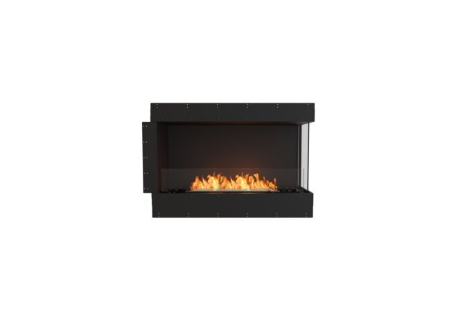 Flex 42RC Right Corner - Ethanol / Black / Uninstalled View by EcoSmart Fire