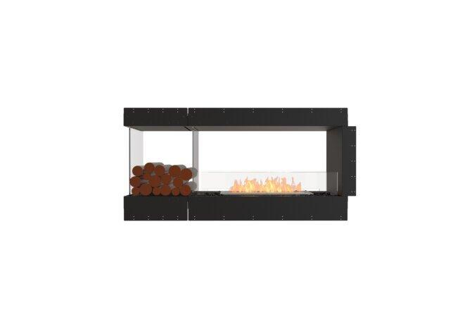 Flex 60PN.BXL Peninsula - Ethanol / Black / Uninstalled View by EcoSmart Fire