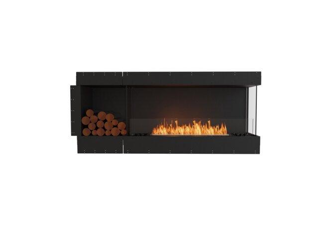 Flex 68RC.BXL Right Corner - Ethanol / Black / Uninstalled View by EcoSmart Fire