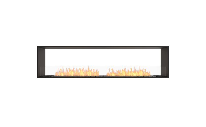 Double Sided Fireplace Insert by MAD Design Group
