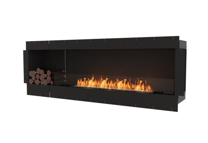 Flex 86SS.BXL Single Sided - Ethanol / Black / Uninstalled View by EcoSmart Fire