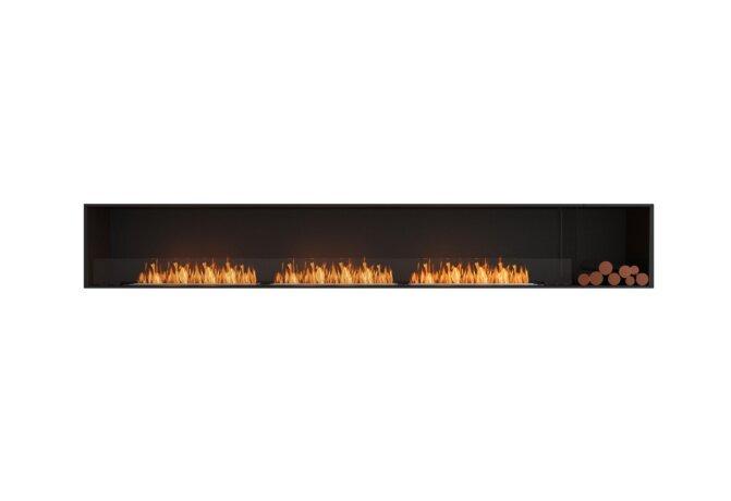 Flex 140SS.BXR Single Sided - Ethanol / Black / Installed View by EcoSmart Fire