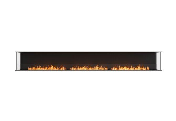 Flex 158 - Ethanol / Black / Installed View by EcoSmart Fire