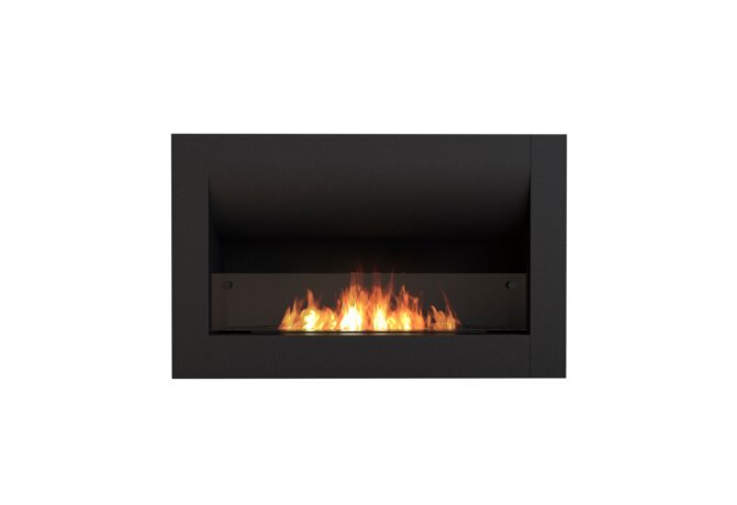 Firebox 920CV Curved Serie - Ethanol / Black / Front View by EcoSmart Fire