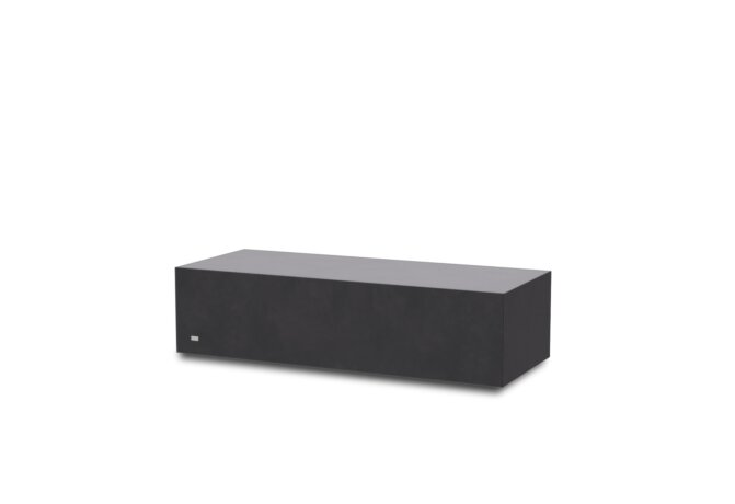 Bloc L1 Coffee Table - Graphite by Blinde Design