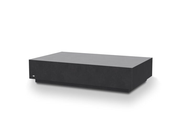 Bloc L6 Coffee Table - Graphite by Blinde Design