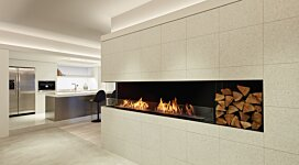 Flex 140LC.BXR Fireplace Insert - In-Situ Image by EcoSmart Fire