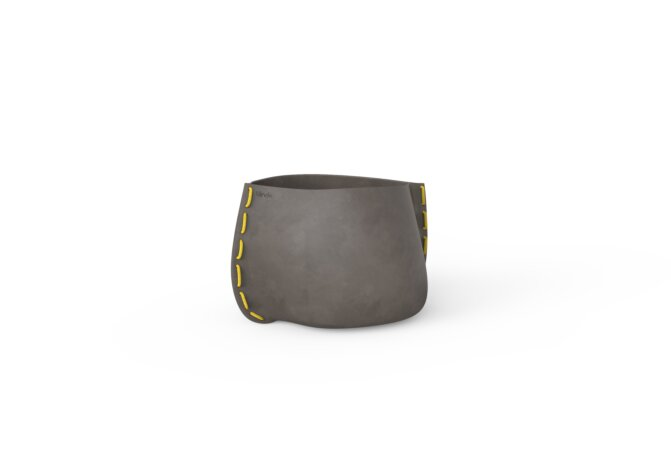 Stitch 25 Planter - Natural / Yellow by Blinde Design