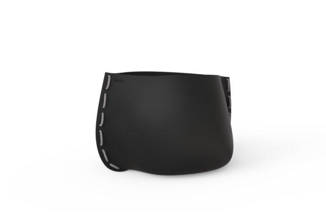 Stitch 75 Planter - Graphite / Grey by Blinde Design