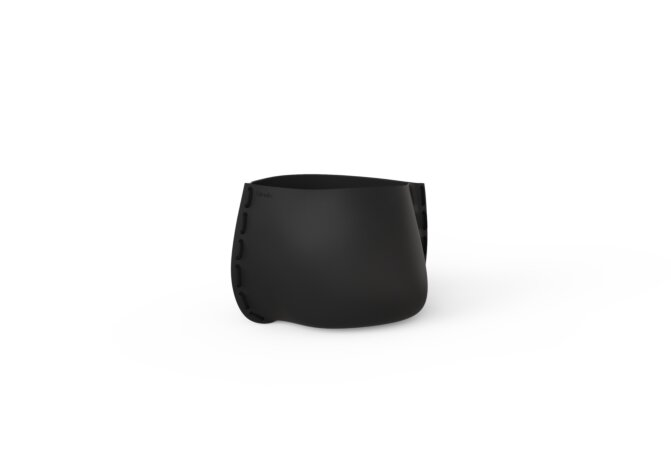 Stitch 25 Planter - Graphite / Black by Blinde Design