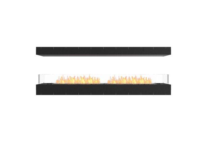 Flex 86IL Island - Ethanol / Black / Uninstalled View by EcoSmart Fire