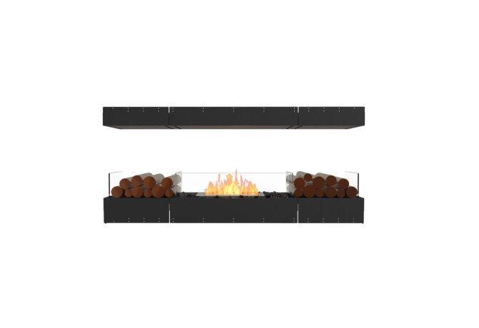 Flex 68IL.BX2 Island - Ethanol / Black / Uninstalled View by EcoSmart Fire