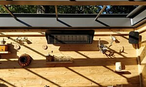 Weathershield 3 Black HEATSCOPE® Accessorie - In-Situ Image by Heatscope