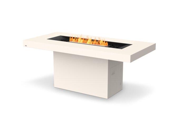 Gin 90 (Bar) Fire Pit - Ethanol - Black / Bone by EcoSmart Fire