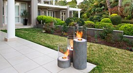 Lighthouse 300 Portable Fire Pit - In-Situ Image by MAD Design Group