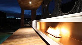 XL900 Ethanol Burner - In-Situ Image by MAD Design Group