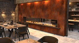 Flex 104DB.BX1 Fireplace Insert - In-Situ Image by EcoSmart Fire