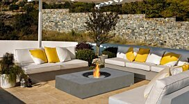 Martini Freestanding - In-Situ Image by EcoSmart Fire