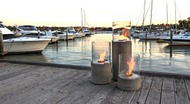Lighthouse 300 Portable Fire Pit - In-Situ Image by EcoSmart Fire