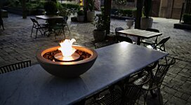Mix 600 Freestanding - In-Situ Image by EcoSmart Fire