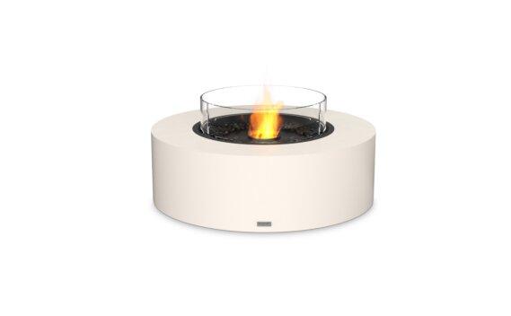 Ark 40 Range - Ethanol - Black / Bone / Optional Fire Screen by EcoSmart Fire